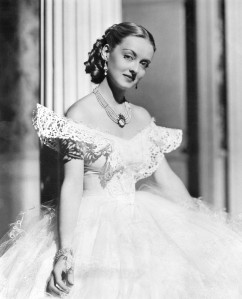 Davis won her second Oscar for Jezebel (1938).