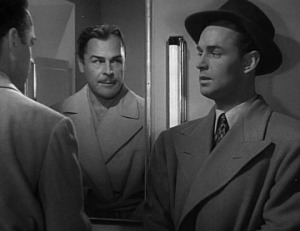 "Alan Ladd plays Brian Donlevy's right-hand man in ""The Glass Key."""