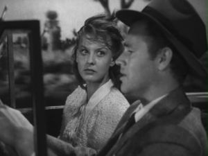 I would take a detour if Ann Savage looked at me like this.