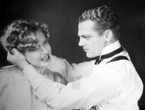 Poor Mae Clarke. She certainly did get manhandled in her movies with Cagney.