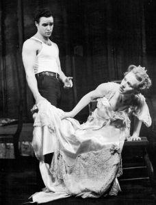 Brando and Jessica Tandy on Broadway