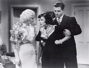 Dames were always fightin' over Gable.