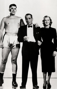 Bogart with co-stars Jan Sterling and Mike Lane