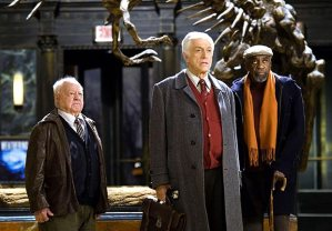 "With Dick Van Dyke and Bill Cobbs in ""Night at the Museum."""