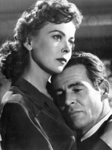 Lupino's character soothes Ryan's savage, cynical beast.