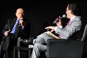 Another highlight was Ben Mankiewicz's interview with Alan Arkin. (photo by John Sciulli)
