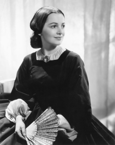 Melanie Wilkes: one of de Havilland's best-known roles.