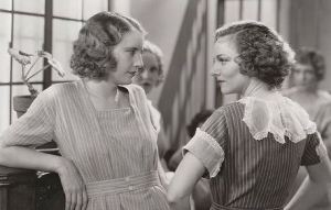 Nan and Susie (Dorothy Burgess) aren't exactly pals.