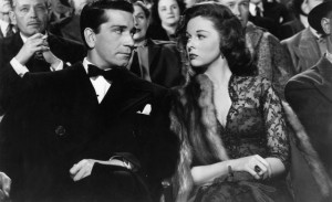 Conte and Hayward: A match made in noir heaven.