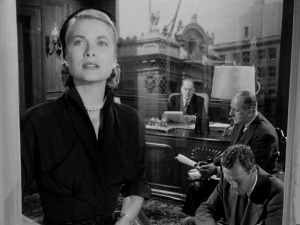 Grace Kelly, in her screen debut.
