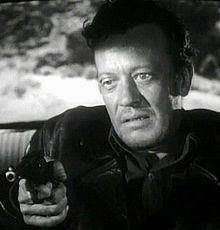 Talman in better days -- here in The Hitch-Hiker.