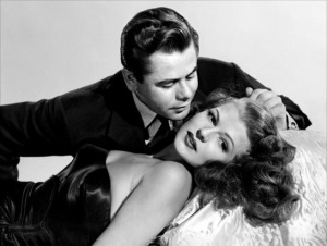 Ford and Hayworth strike a steamy pose.