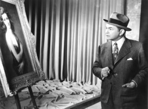 Edward G. Robinson in The Woman in the Window. What did he say?