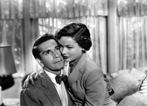 Richard Conte in a bow tie. Ew.