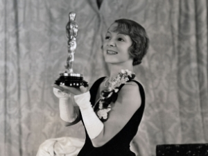 Hayes with her well-deserved Oscar.