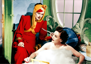 This has absolutely nothing to do with the scene I described, but it's another favorite and I absolutely LOVE the beautiful colorization. (You're welcome.)