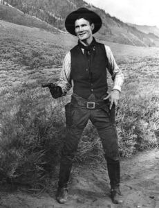 Reach for it and tell me the name of your favorite western!