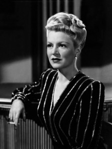 Mrs. Helen Grayle (Claire Trevor) in Murder, My Sweet (1944)