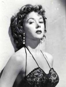 Vicki Buckley (Gloria Grahame) in Human Desire (1954)
