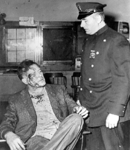 After an arrest in 1958.