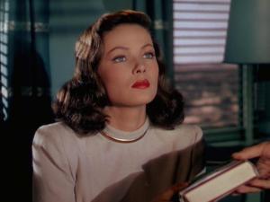 Ellen Berent (Gene Tierney) in Leave Her to Heaven (1945)