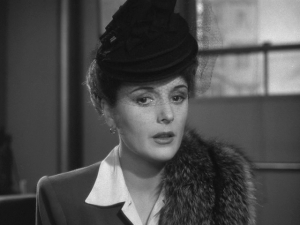 Brigid O'Shaughnessy (Mary Astor) in The Maltese Falcon (1941)