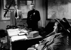 Conrad co-starred in The Racket with Robert Mitchum and William Talman.
