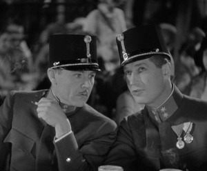 Charlie Ruggles (left) played a small, but pivotal, role.