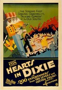Muse's first Hollywood film was Hearts in Dixie.