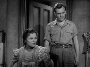Kennedy and Barbara Hale as the parents in The Window.