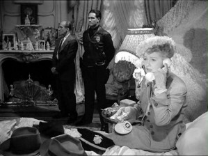Even columnist Hedda Hopper gets in on the act.