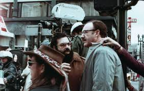 Coppola providing direction to Hackman in The Conversation.