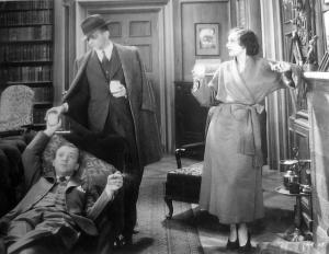 Dvorak and Tracy each appeared in seven films in 1932. Here they are in a scene from their other 1932 film together, Love Is a Racket.