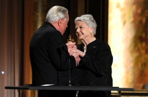 Robert Osborne was Lansbury's personal choice to present her with the Oscar.