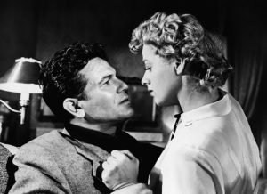 Garfield and co-star Shelley Winters.