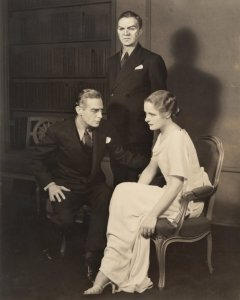 Royle in Eugene O'Neill's Days Without End, in 1934.