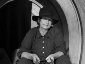 As a pioneer in Westward the Women.