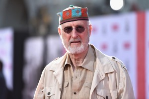 James Cromwell on the red carpet, opening night of the film festival.